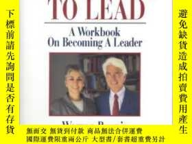 二手書博民逛書店Learning罕見To Lead: A Workbook On Becoming A Leader-學會領導:成