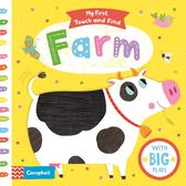 【MY FIRST TOUCH AND FIND】FARM with big flaps 硬頁觸摸翻翻書 (OS小舖)