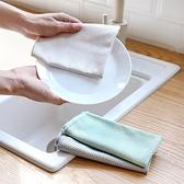 魚鱗形狀清潔洗碗布 3入裝 洗碗布 吸水布 清潔布