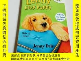 二手書博民逛書店Lenny罕見the lazy puppy(英文,)Y21282