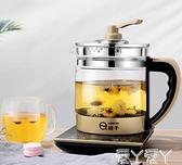 養生壺全自動加厚玻璃家用多功能電熱燒水壺花茶煮茶壺迷你壺220V