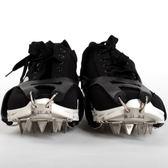 登山防滑鞋套戶外登山爬雪山 加厚錳鋼18大齒簡易冰爪防滑鞋套冰抓 小明同學