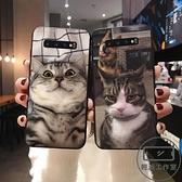 買一送一 可愛搞怪寵物英短貓咪手機殼三星軟殼防摔【輕派工作室】