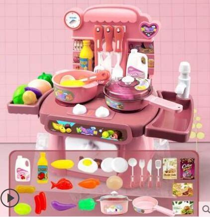 仿真廚房過家家寶寶玩具女孩