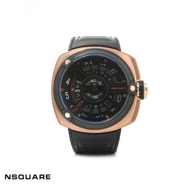 【NSQUARE】/設計橡膠錶(男錶 女錶 Wtahc)/G0369-N06.12/台灣總代理原廠公司貨兩年保固