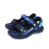 G.P (GOLD PIGEON) 阿亮代言 涼鞋 防水 雨天 黑/藍 女鞋 G0791BW-20 no076