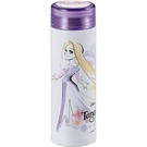 Pearl 細身輕量保溫保冷不鏽鋼隨手瓶 300ml 迪士尼 樂佩公主 花朵 紫_PA42258