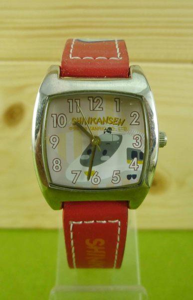 【震撼精品百貨】Shin Kan Sen 新幹線~手錶~紅方形