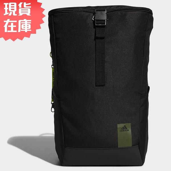 【現貨】Adidas FLAP BP 後背包 背包 休閒 大容量 網材背帶 黑【運動世界】GN9845
