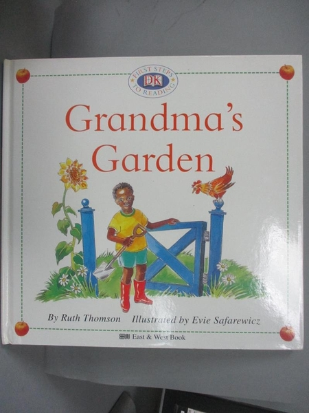 【書寶二手書T6/少年童書_GK6】Grandma s Garden奶奶的菜園_東西出版事業股份有限公司