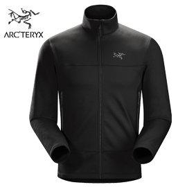 丹大戶外【Arc'teryx】始祖鳥 男抓絨保暖外套 5013316234B 黑