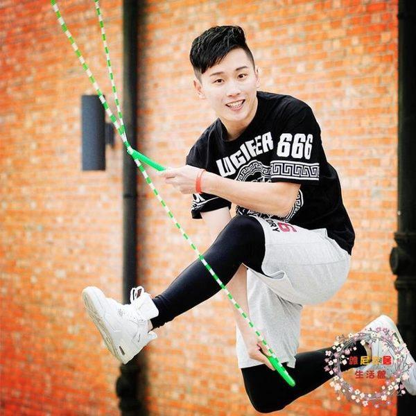 跳繩躍動兒童跳繩花式運動珠節跳繩 中小學生兒童花樣竹節跳繩子