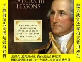 二手書博民逛書店George罕見Washington s Leadership Lessons: What the Father