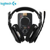 [logitech 羅技 ]  電競耳機麥克風+混音擴大器組  A40