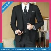 西服套裝 男士職業伴郎禮服 新郎結婚禮服正裝外套 修身休閒小西裝男