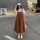 漂亮小媽咪 韓系吊帶長裙【D3356】 ...