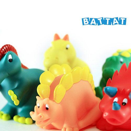 【奇買親子購物網】美國B.Toys 洗澡玩具組-恐龍