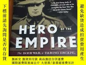 二手書博民逛書店Hero罕見of the Empire: The Boer War, a Daring Escape, and t