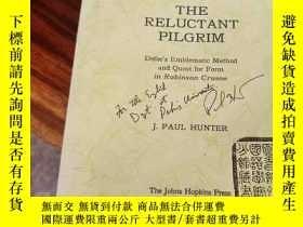 二手書博民逛書店The罕見Reluctant Pilgrim: Defoe s