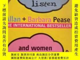 二手書博民逛書店WHY罕見MEN DON T LISTEN AND WOMEN CAN T READ MAPSY19285 A