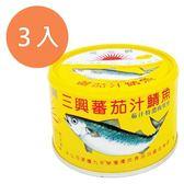 三興 蕃茄汁鯖魚 230g (3入)/組