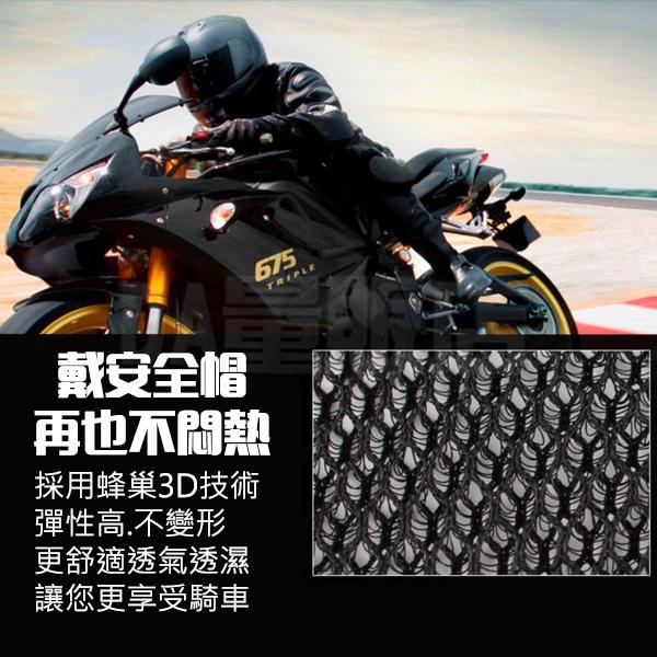 安全帽內襯 安全帽墊 頭盔墊 透氣蜂巢隔熱墊 墊片 內襯網墊 頭套 襯墊 保護墊 保潔墊 摩托車