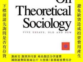 二手書博民逛書店On罕見Theoretical SociologyY307751