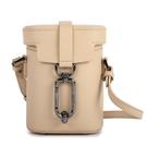 Botkier Brooklyn滑面皮革小型斜背水桶包(杏色)260014-2