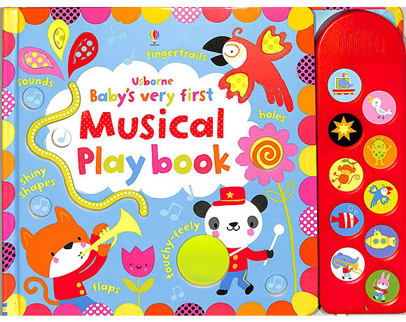 Baby's Very First Musical Play Book 小寶貝的翻頁觸摸音樂書