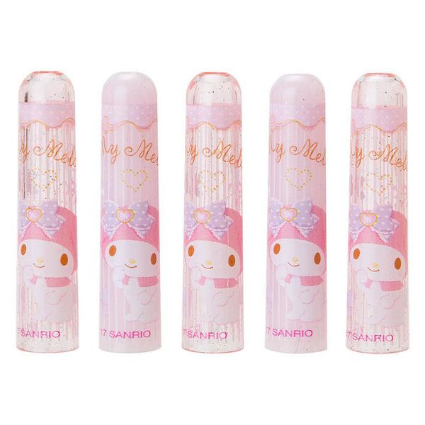 Sanrio 美樂蒂鉛筆帽組-一組5個入(蕾絲花圈)★funbox生活用品★ 059978