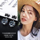顯臉瘦的耳環女氣質韓國耳墜個性純銀簡約百搭耳釘大氣耳飾 解憂雜貨鋪