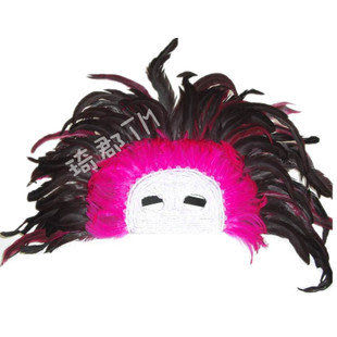 COS羽毛面具