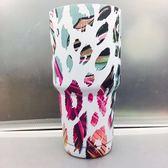 冰霸杯304不銹鋼保溫杯星空杯UV鍍噴漆噴塑骷髏頭迷彩 雪人杯圣誕冰霸杯【七夕節好康搶購】
