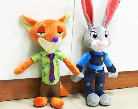 【葉子小舖】動物方城市角色造型/Q版娃娃/茱蒂尼克/迪士尼動畫/兔子狐狸/zootopia