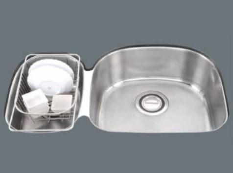 【歐雅系統家具】『赫里翁-國產雙槽水槽系列JT-2845』