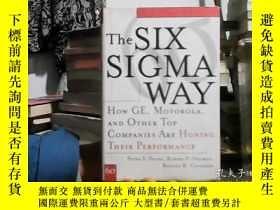 二手書博民逛書店The罕見Six Sigma Way:How GE, Motor