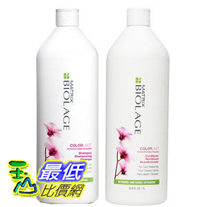 [104 美國直購] Matrix Biolage COLORLAST Shampoo and Conditioner Liter Duo (33.8 oz each) BIL101