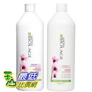 [104 美國直購] Matrix Biolage COLORLAST Shampoo and Conditioner Liter Duo (33.8 oz each) BIL101