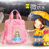 花花姑娘補習袋小學生手提袋女拎書袋