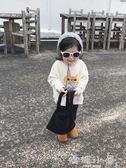 女童上衣 秋冬裝新款兒童圓領套頭衛衣寶寶韓版寬鬆長袖上衣  嬌糖小屋