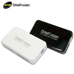 DigiFusion伽利略  72合1 ATM晶片讀卡機 黑(RU054B)