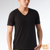 宜而爽 時尚吸濕排汗速乾型男短袖衫 黑3件組