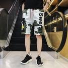 FINDSENSE  2019 夏季 日本 新款 嘻哈 迷彩 休閒 五分褲短褲