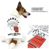 【PET PARADISE 寵物精品】SNOOPY 史奴比紅色小屋上衣/白 (3S/DSS/SS/DS) 狗衣服 寵物衣服