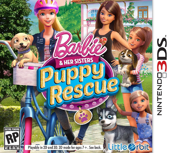 3DS Barbie and Her Sisters: Puppy Rescue 芭比和她的姐妹小狗救援(美版代購)
