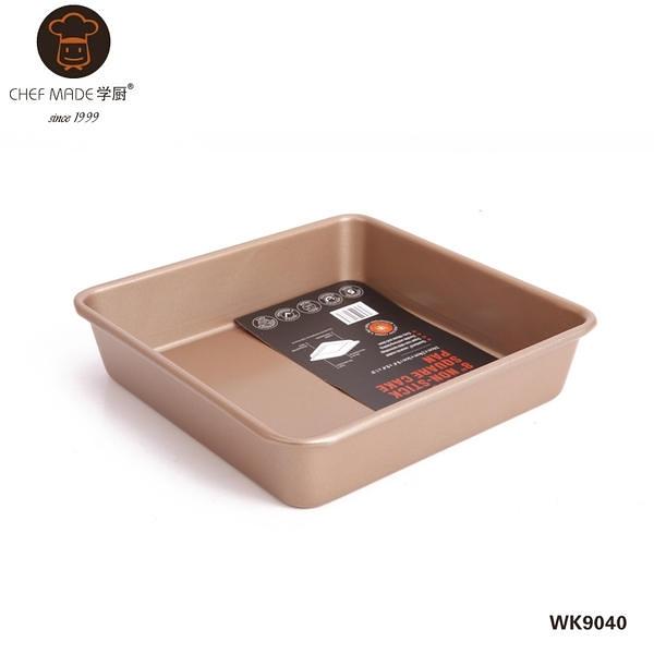 【學廚8寸正方形不沾烤盤WK9040 CA237】NO135烘焙模具烘焙用品麵包模【八八八】e網購