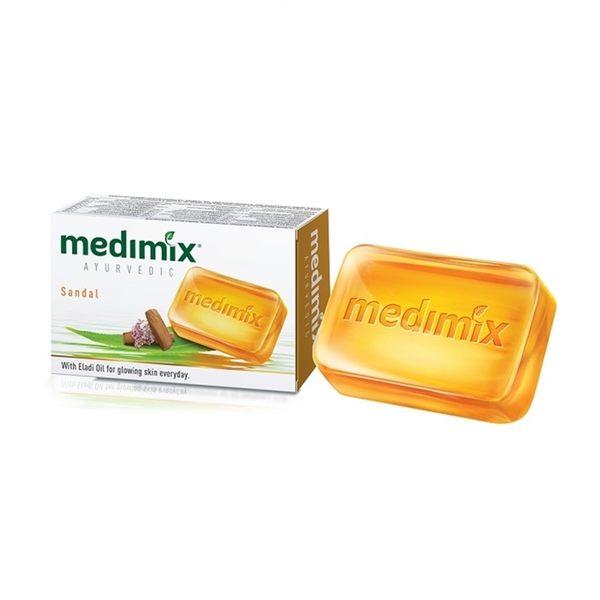 【印度MEDIMIX國際外銷版】草本香皂-草本檀香皂 125g (五入組)