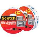 [奇奇文具]【3M Scotch 雙面膠】3M 116 24mm×3y 超強力雙面泡棉膠帶