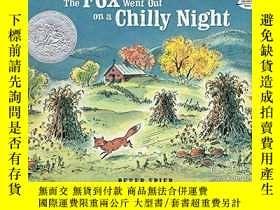 二手書博民逛書店The罕見Fox Went Out On A Chilly NightY256260 Spier, Peter