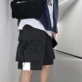 ins潮牌百搭工裝短褲男潮流韓版運動休閒褲夏季寬鬆直筒五分褲子